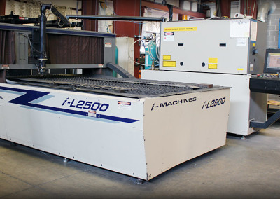 "2 Axis Laser I-Machine L2500 max cutting 4'X8'X.25"" thick"